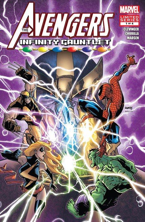 Avengers & The Infinity Gauntlet #1 – 4 (2010-2011)