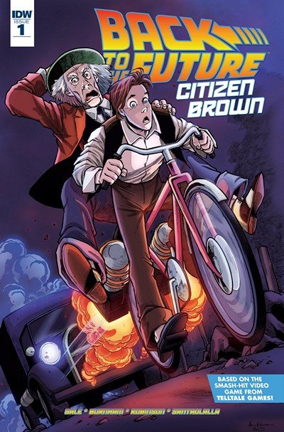 Back To the Future – Citizen Brown #1 – 5 (2016)