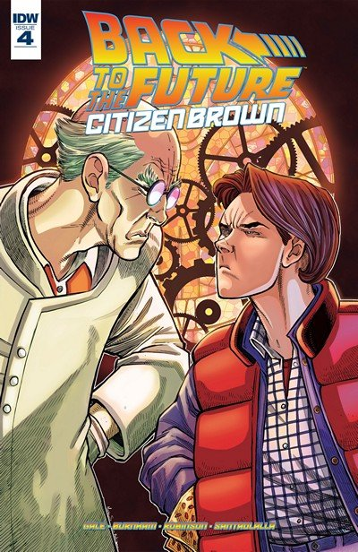 Back To the Future – Citizen Brown #4 (2016)