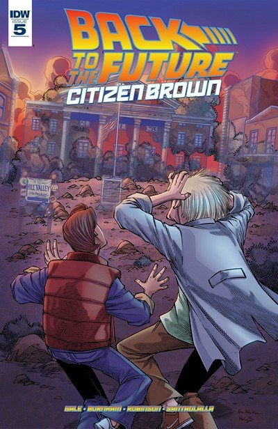 Back To the Future – Citizen Brown #5 (2016)