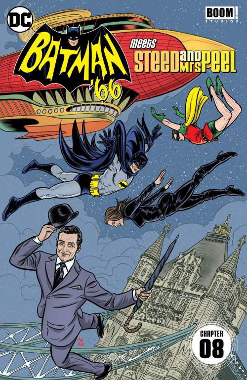 Batman '66 Meets Steed and Mrs Peel #8 (2016)