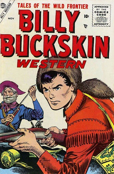 Billy Buckskin Western #1 – 3 (1955-1956)