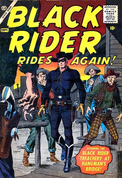 Black Rider Rides Again  Vol. 1  #1 (1957)