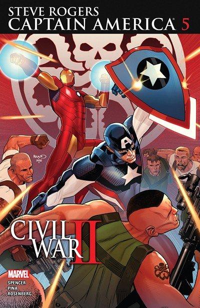 Captain America – Steve Rogers #5 (2016)