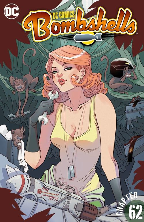 DC Comics – Bombshells #62 (2016)