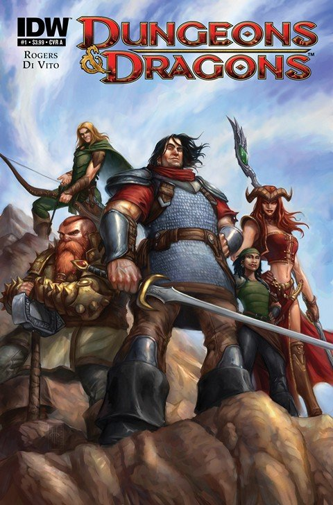 Dungeons & Dragons #0 – 15 + Extras (2010-2012)