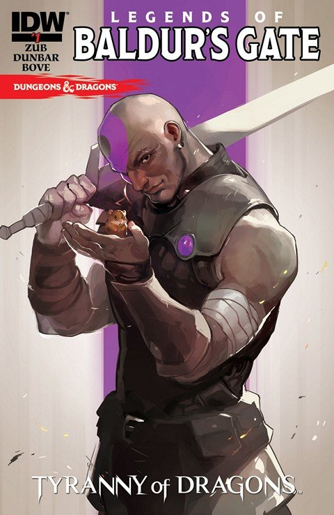 Dungeons & Dragons – Legends of Baldur's Gate #1 – 5 (2014-2015)
