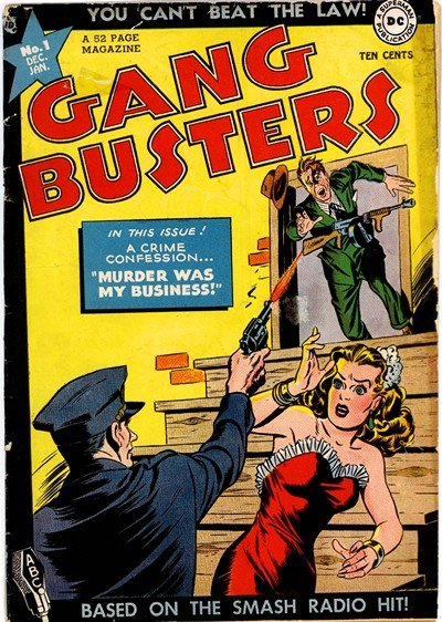 Gang Busters #1 – 67 (1947-1959)