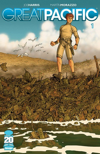Great Pacific #1 – 10 + TPB Vol. 1 – 3 (2012-2015)