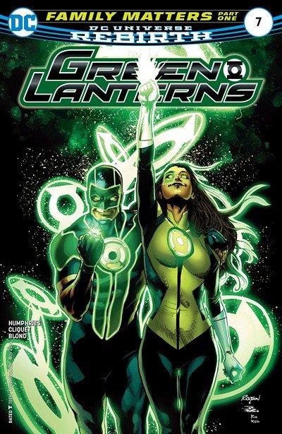 Green Lanterns #7 (2016)