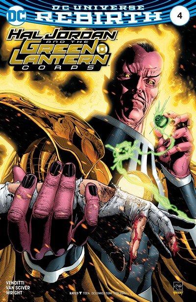 Hal Jordan and the Green Lantern Corps #4 (2016)