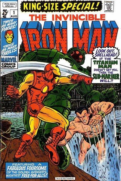 Iron Man Annual #1 – 15 (1970-1994)