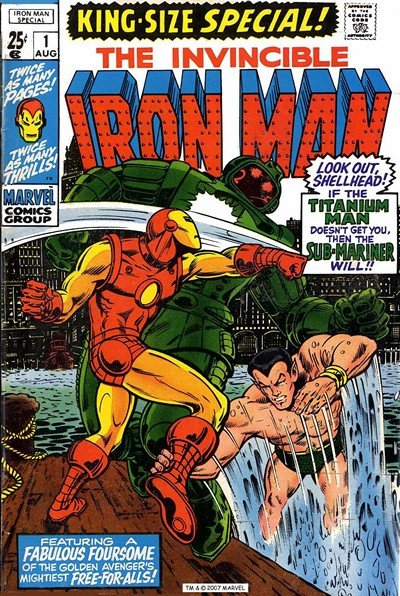 Iron Man Annual #1 – 15 (1970-1994)