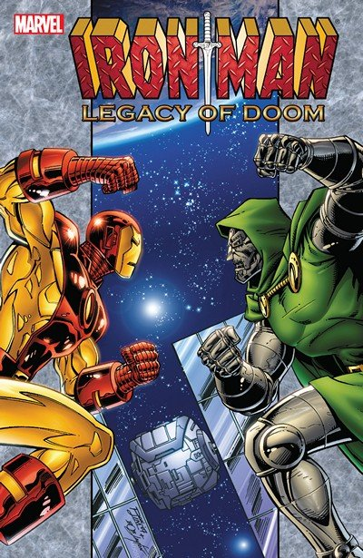 Iron Man – Legacy of Doom #1 – 4 + TPB (2008+2015)