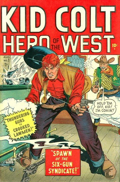 Kid Colt Outlaw #1 – 229 + Giant Size #1 – 3