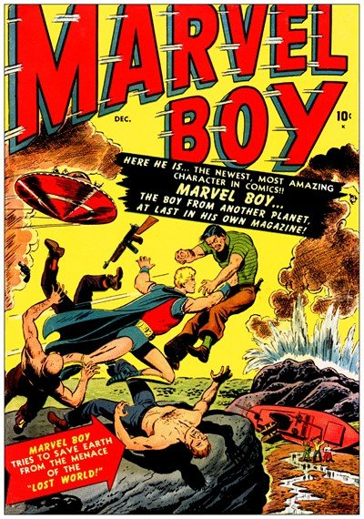 Marvel Boy #1 – 2 (1949-1951)