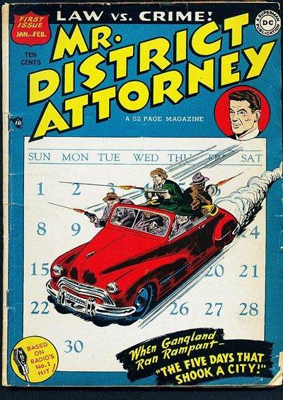 Mr. District Attorney #1 – 67 (1948-1958)
