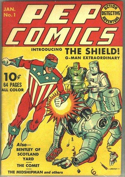 Pep Comics #1 – 65 (1940-1948)