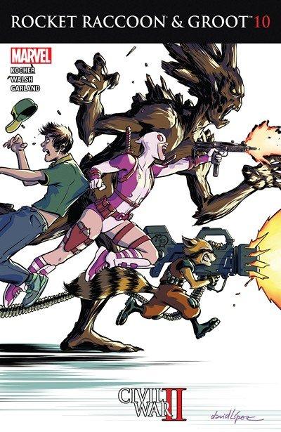 Rocket Raccoon and Groot #10 (2016)
