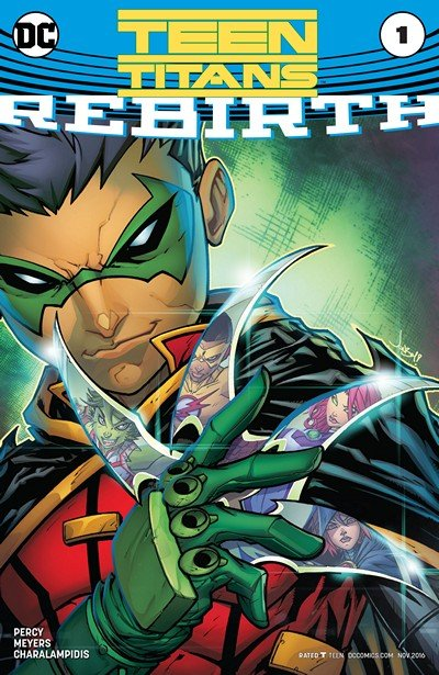 Teen Titans – Rebirth #1 (2016)
