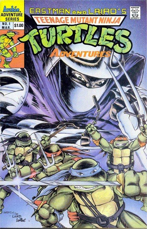 Teenage Mutant Ninja Turtles Adventures #1 – 72 (1989-1995)
