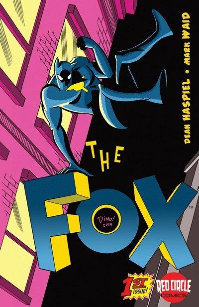 The Fox #1 – 5 (2013-2014)