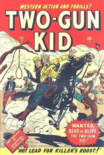 Two-Gun Kid #1 – 136 (1948-1977)