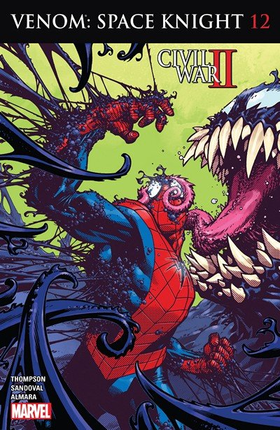 Venom – Space Knight #12 (2016)