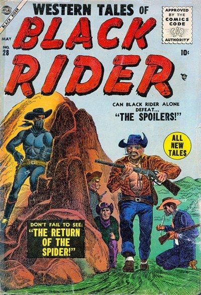 Western Tales of Black Rider #28 – 31 (1955)