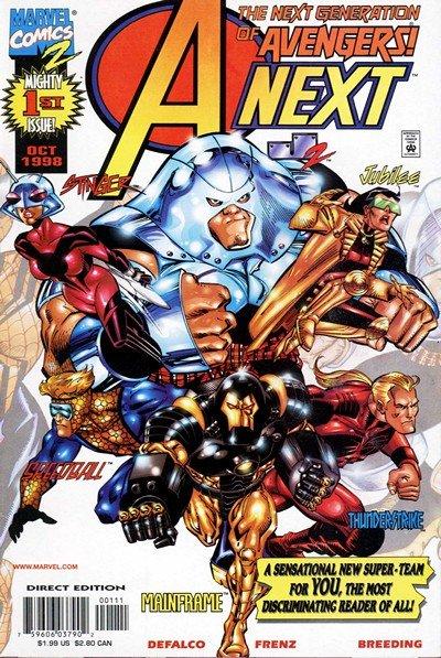 A-Next #1 – 12 (1995-1999)