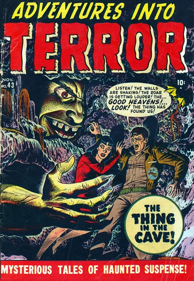 Adventures Into Terror #1 – 31 (Missing 18,26) (1950-1954)