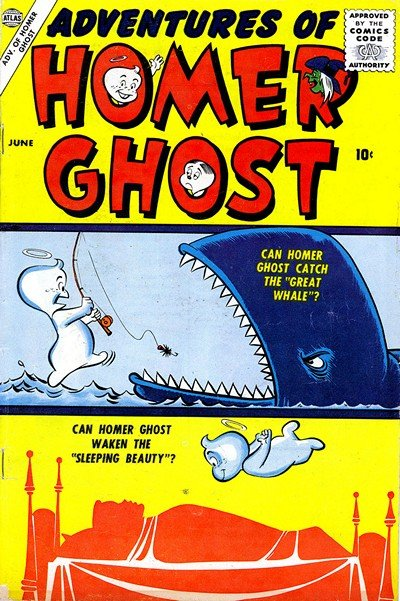 Adventures of Homer Ghost #1 – 2 (1957)