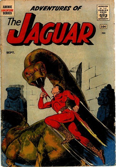 Adventures of the Jaguar #1 – 15 (1961-1963)