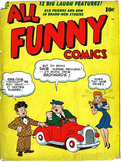 All Funny Comics #1 – 23 (1943-1948)