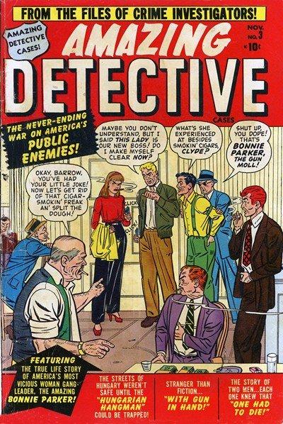 Amazing Detective Cases #3 – 14 (1950-1952)