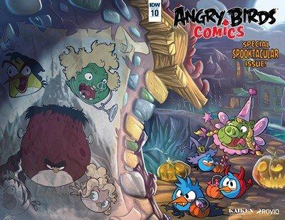 Angry Birds Comics #10 (2016)