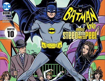 Batman '66 Meets Steed and Mrs Peel #10 (2016)