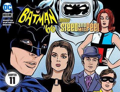 Batman '66 Meets Steed and Mrs Peel #11 (2016)