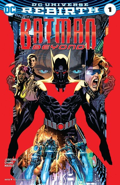 Batman Beyond Vol. 6 – Rebirth #1 + 1 – 30 + TPBs (2016-2019)