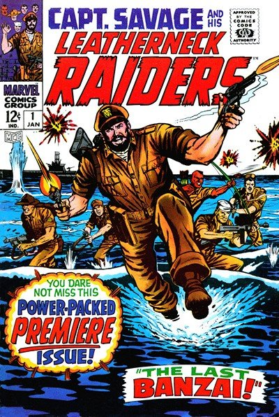 Captain Savage #1 – 14 (1968-1970)
