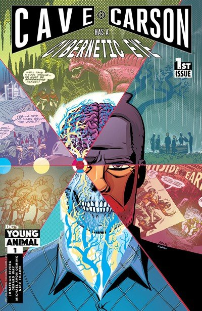 Cave Carson Has a Cybernetic Eye #1 (2016)