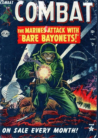 Combat #1 – 11 (1952-1953)