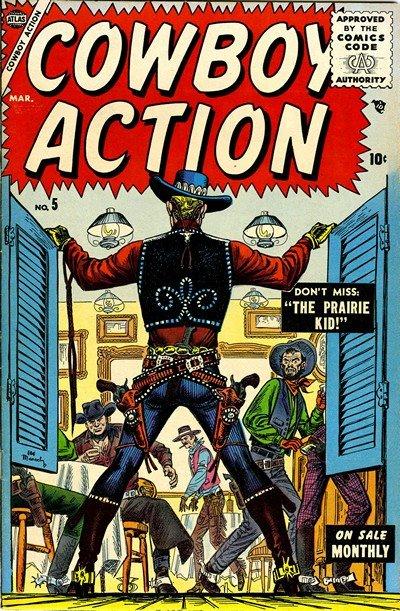 Cowboy Action #5 – 11 (1955-1956)