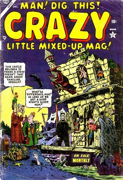 Crazy Vol. 1 #1 – 7 (1953-1954)