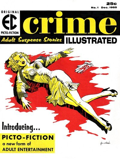 Crime Illustrated #1 – 2 (1955)