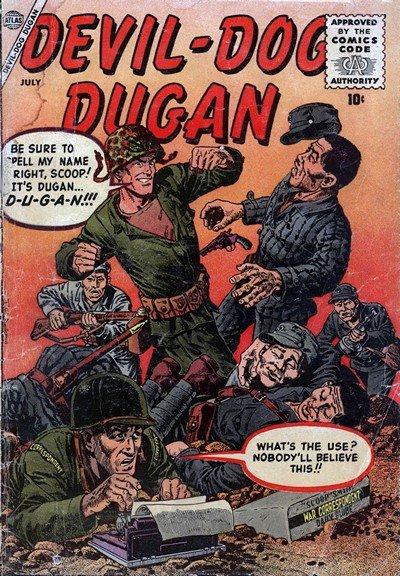 Devil-Dog Dugan #1 – 3 (1956-1959)