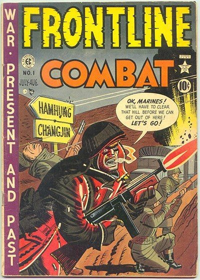 Frontline Combat #1 – 15 (1951-1954)