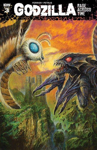 Godzilla – Rage Across Time #3 (2016)