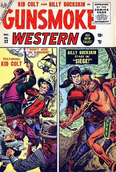 Gunsmoke Western #32 – 77 (1955-1963)