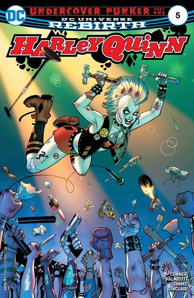 Harley Quinn #5 (2016)